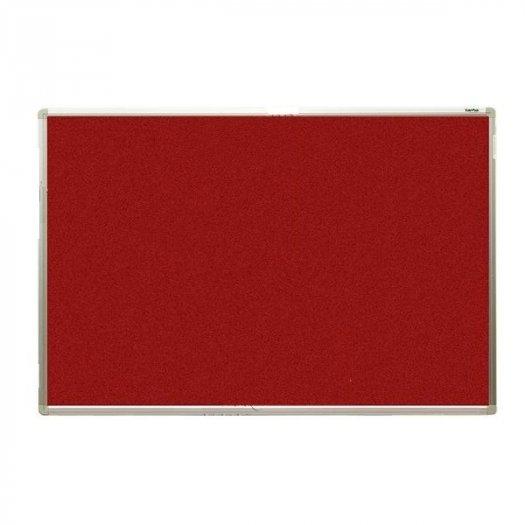 Bảng ghim, Bảng ghim nỉ Kích thước 40x60cm (màu đỏ)2