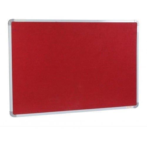Bảng ghim, Bảng ghim nỉ Kích thước 40x60cm (màu đỏ)1
