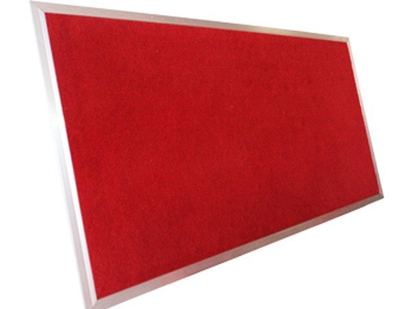 Bảng ghim, Bảng ghim nỉ Kích thước 40x60cm (màu đỏ)0