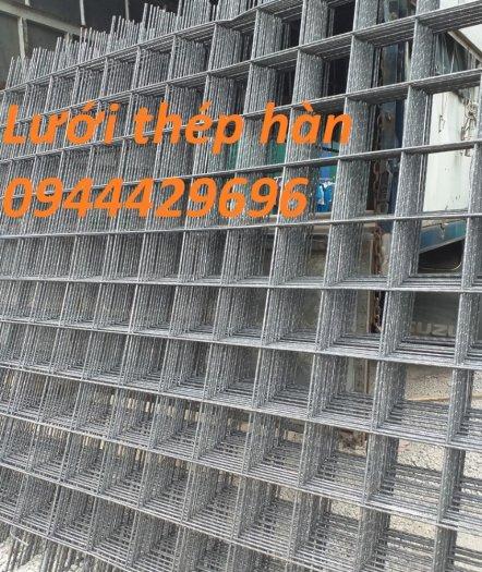 Lưới thép hàn D6 a 150x150 dùng đổ bê tông3