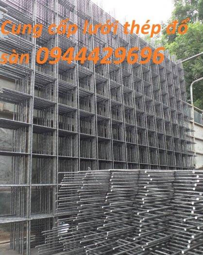 Lưới thép hàn D6 a 150x150 dùng đổ bê tông1