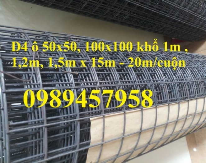 Lưới thép đổ sàn ô 200x200, Phi 5 ô 150x150, Phi 6 ô 200x200 có sẵn0