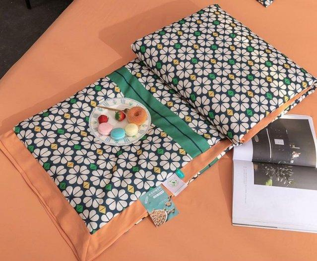 Chăn hè 2021 chất liệu lụa, hàng Thái chuẩn xịn nhiều mẫu6