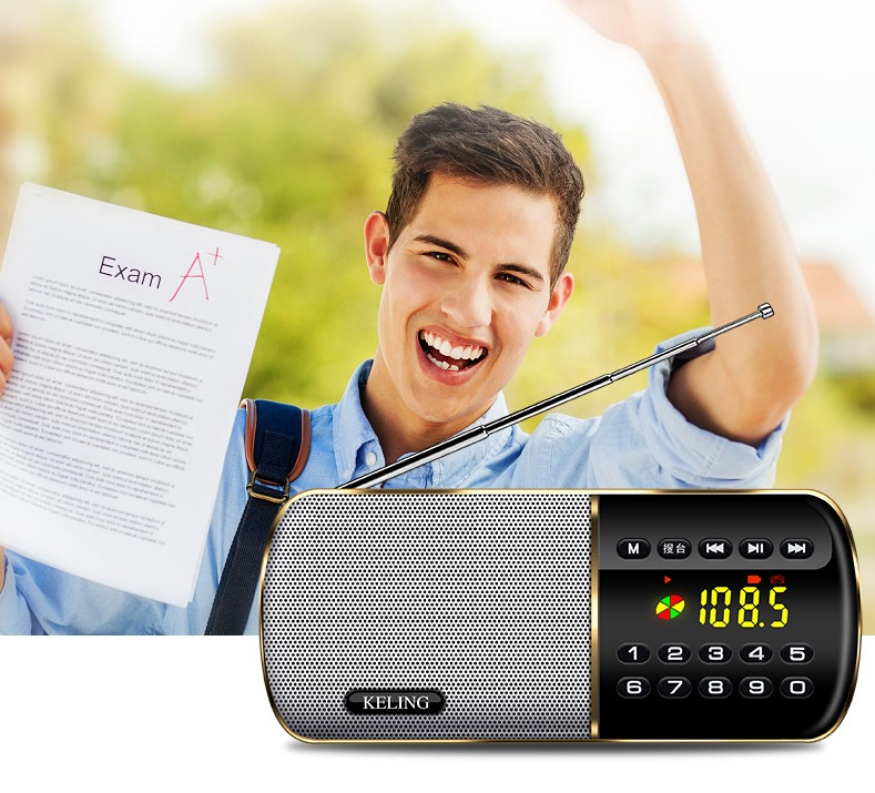 Loa nghe nhạc FM radio Keling F8 cao cấp4