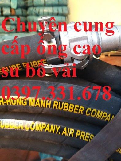 Chuyên cung cấp ống cao su bố vải, ống cao su lõi thép giá tốt0