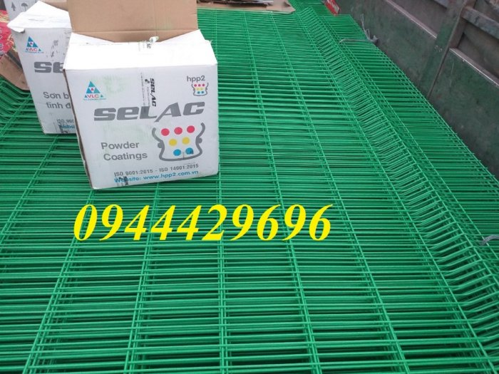 Lưới hàn sơn tĩnh điện phi 5 ô 50x100, 50x200 giá tốt15