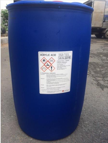 Bán Hóa chất Sản xuất phụ gia xây dựng - ACRYLIC ACID1
