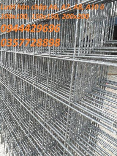 Lưới hàn chập A6 ô 100x100 giao hàng nhanh2
