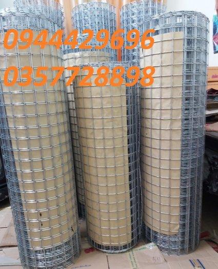 Lưới hàn phi 3 ô 50x50 khổ 1m, 1,2m, 1,5m mạ kẽm  hàng sẵn kho12