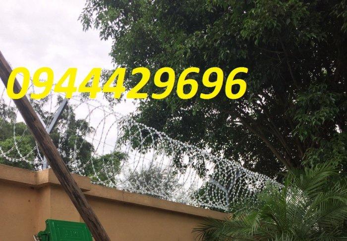 Dây kẽm lam - dây thép gai hình dao Đk 6013