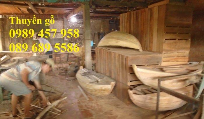 Bán Xuồng gỗ trưng bày nhà hàng 2m, 3m, 4m, 5m có sẵn giao hàng tận nơi3