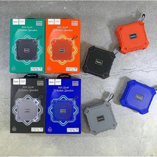 Loa Thể Thao Bluetooth Hoco BS34 Chống Nước ,hỗ trợ thẻ nhớ, cổng USB và cổng âm thanh AUX 3.5mm0