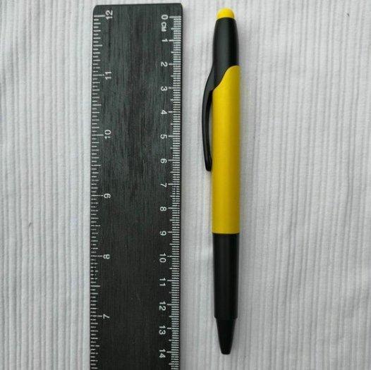 Bút bi có đầu highlight dạ quang in logo5