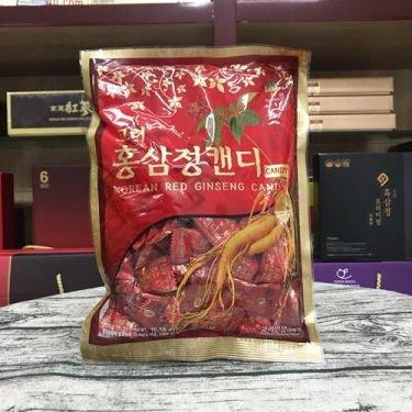 Kẹo sâm đỏ KGS có đường bịch 300gr