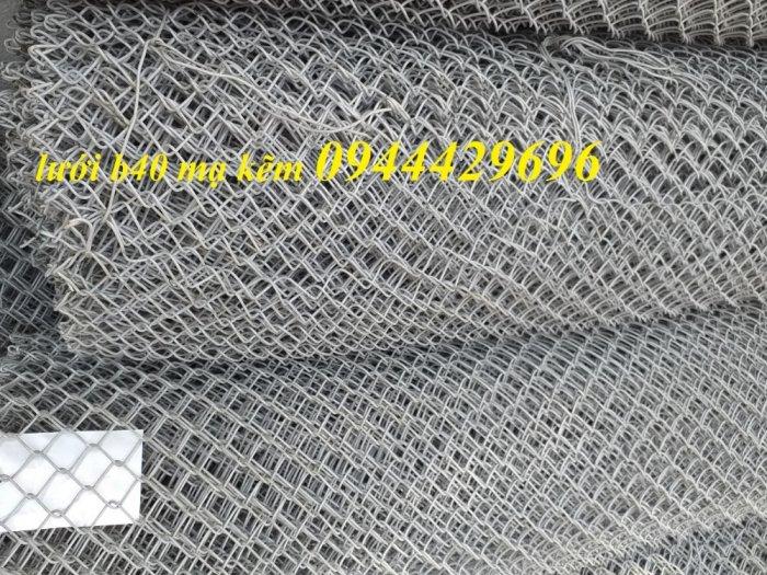 Lưới B40 mạ kẽm , Lưới B40 bọc nhựa khổ 1m, 1.2m, 1.5m, 1.8m15