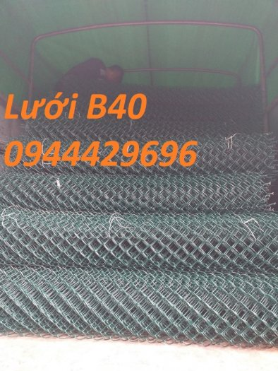 Lưới B40 mạ kẽm , Lưới B40 bọc nhựa khổ 1m, 1.2m, 1.5m, 1.8m4