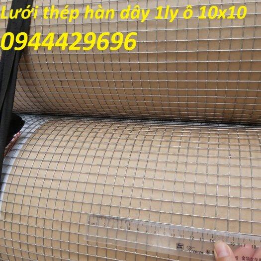 Lưới thép hàn dây 1.5ly ô 12x12 khổ 1m,1.2m  mạ nhúng nóng8