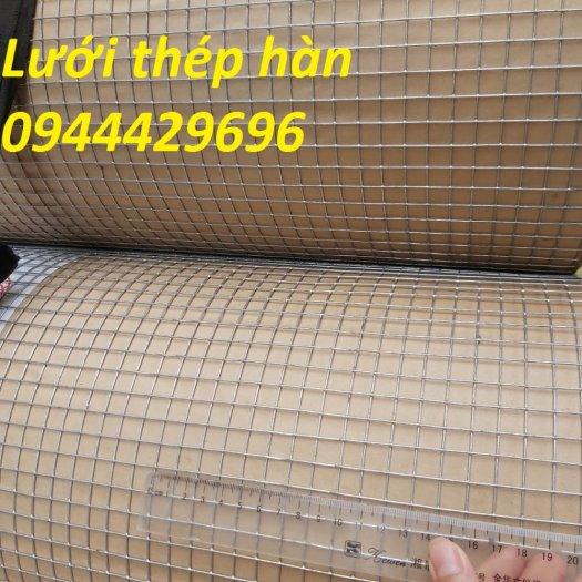 Lưới thép hàn dây 1.5ly ô 12x12 khổ 1m,1.2m  mạ nhúng nóng7