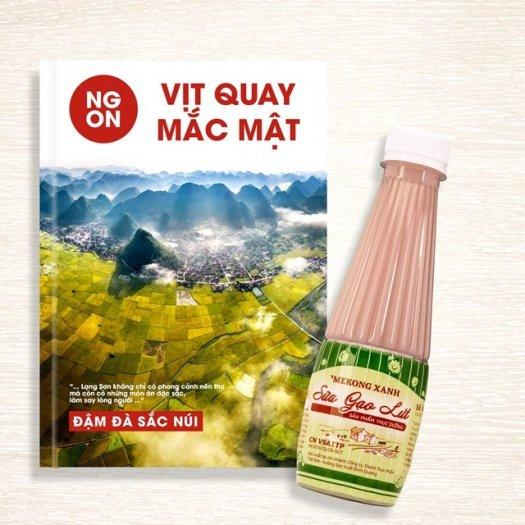 Sữa Hạt Sen Mekong Xanh…Thức Uống Dinh Dưỡng4