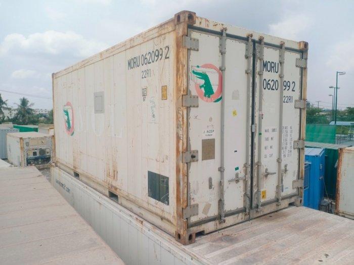 Container lạnh 20feet Nhật Bản2