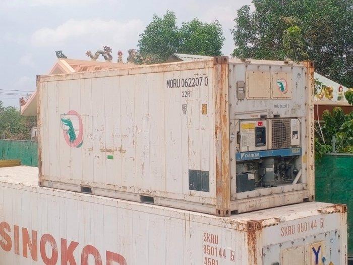 Container lạnh 20feet Nhật Bản0
