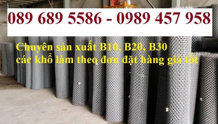 Nơi bán Lưới thép B10 và B20 ô 10x10, 20x20 giá rẻ5