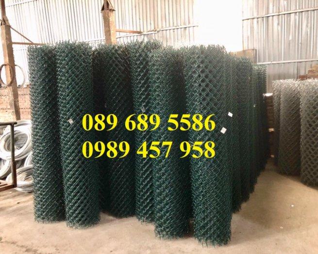 Lưới B40 bọc nhựa mầu xanh, Lưới b40 mầu ghi, Lưới làm sân tennis5