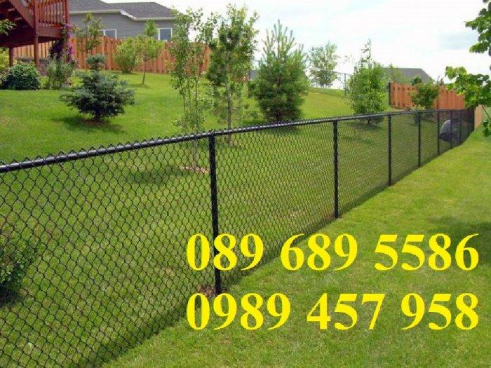 Lưới B40 bọc nhựa mầu xanh, Lưới b40 mầu ghi, Lưới làm sân tennis2