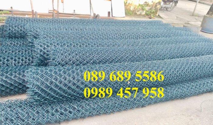 Lưới b40 bọc nhựa khổ 2,4m mầu xanh và mầu ghi, Lưới làm sân bóng đá, Lưới sân tennis7