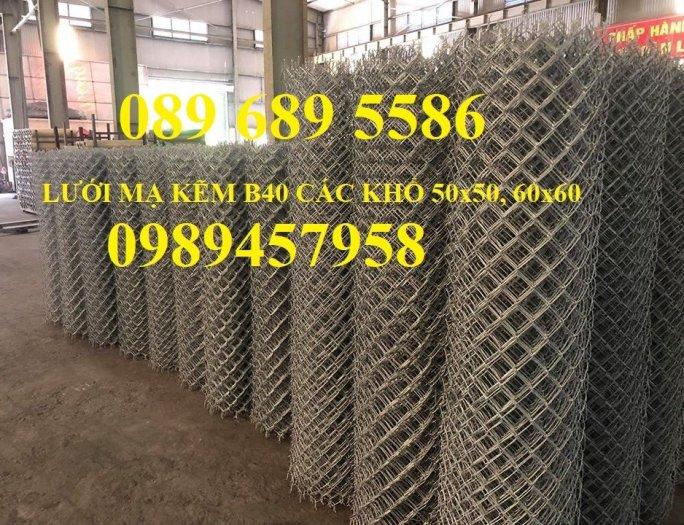 Lưới b40 bọc nhựa khổ 2,4m mầu xanh và mầu ghi, Lưới làm sân bóng đá, Lưới sân tennis1