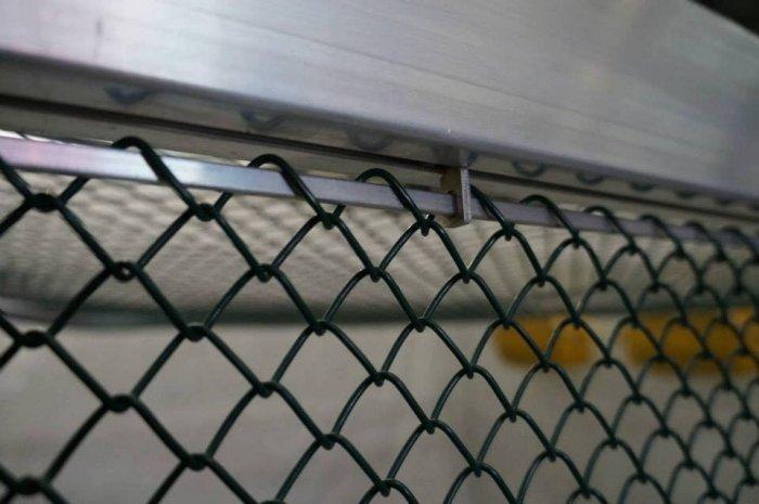 Lưới thép làm lồng nuôi cá, Lưới b40 bọc nhựa làm hàng rào6
