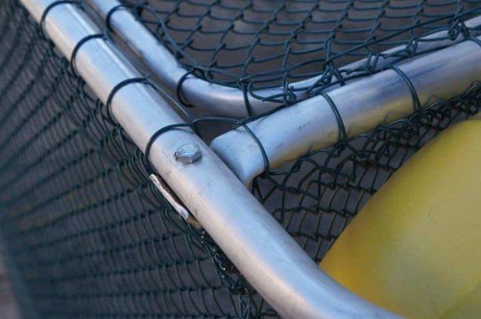 Lưới thép làm lồng nuôi cá, Lưới b40 bọc nhựa làm hàng rào5