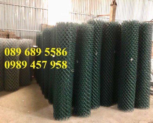 Lưới thép làm lồng nuôi cá, Lưới b40 bọc nhựa làm hàng rào3