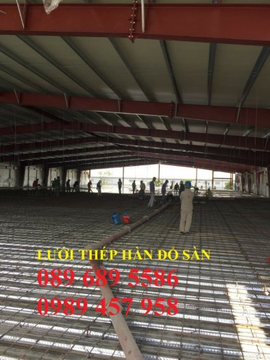 Lưới thép đổ sàn chống nứt phi 4 - Lưới đổ sàn phi 4 a 200x2003