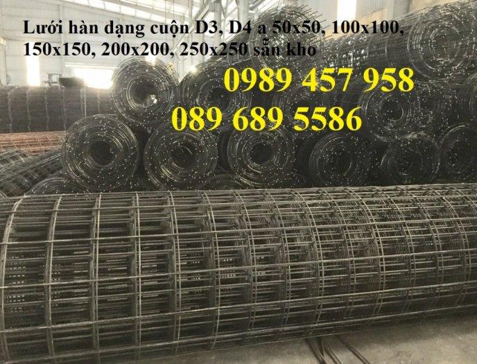 Bán Lưới đổ bê tông phi 3 chống thấm và chống nứt , Lưới thép hàn phi 4 50x50, 100x1002