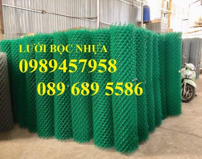 Lưới hàng rào B10, B20, B30, Hàng rào chăn nuôi mạ kẽm, Bọc nhựa 20x20, 30x308