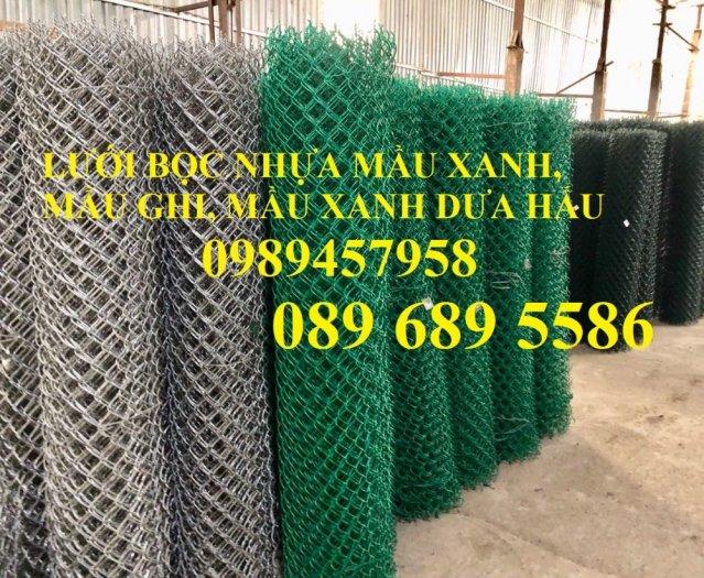 Lưới hàng rào B10, B20, B30, Hàng rào chăn nuôi mạ kẽm, Bọc nhựa 20x20, 30x304