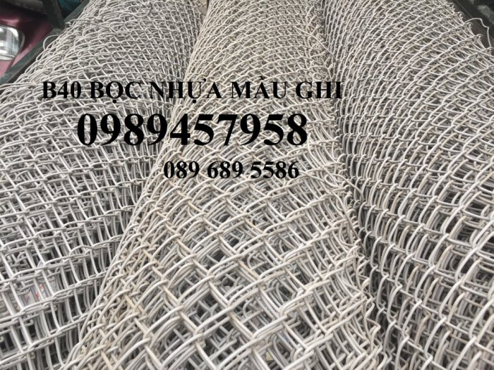Lưới b40 bọc nhựa PVC 50x50, 60x60, 70x702