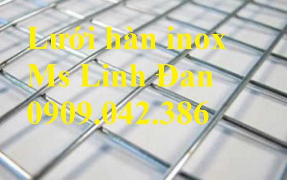 Báo giá lưới hàn inox, lưới hàn inox chử nhật, thông số lưới hàn inox, lưới hàn inox 304,14