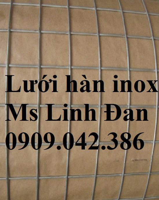 Báo giá lưới hàn inox, lưới hàn inox chử nhật, thông số lưới hàn inox, lưới hàn inox 304,13