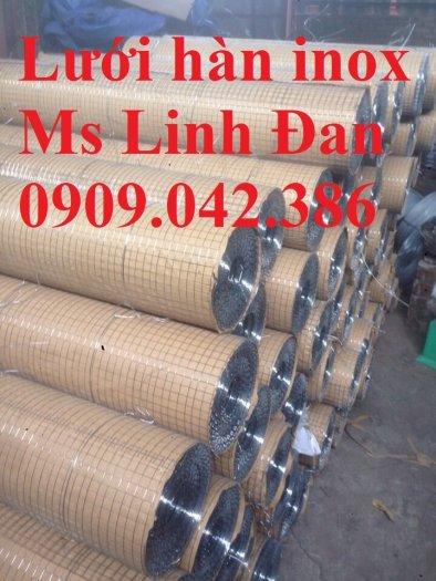 Báo giá lưới hàn inox, lưới hàn inox chử nhật, thông số lưới hàn inox, lưới hàn inox 304,11