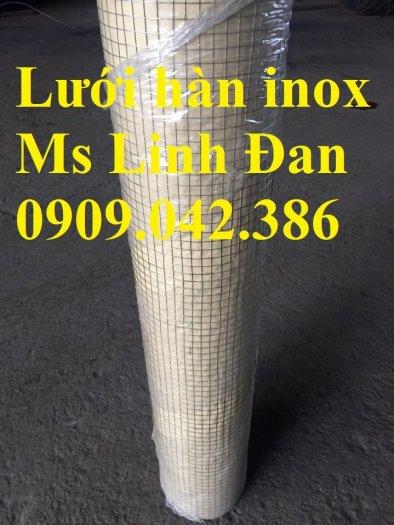 Báo giá lưới hàn inox, lưới hàn inox chử nhật, thông số lưới hàn inox, lưới hàn inox 304,8