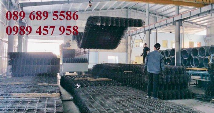 Sản xuất Lưới thép hàn phi 10 ô 200x200- lưới hàn chập phi 10 ô 200x2006