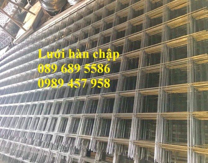 Sản xuất Lưới thép hàn phi 10 ô 200x200- lưới hàn chập phi 10 ô 200x2005