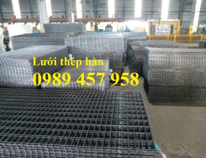 Sản xuất Lưới thép hàn phi 10 ô 200x200- lưới hàn chập phi 10 ô 200x2000