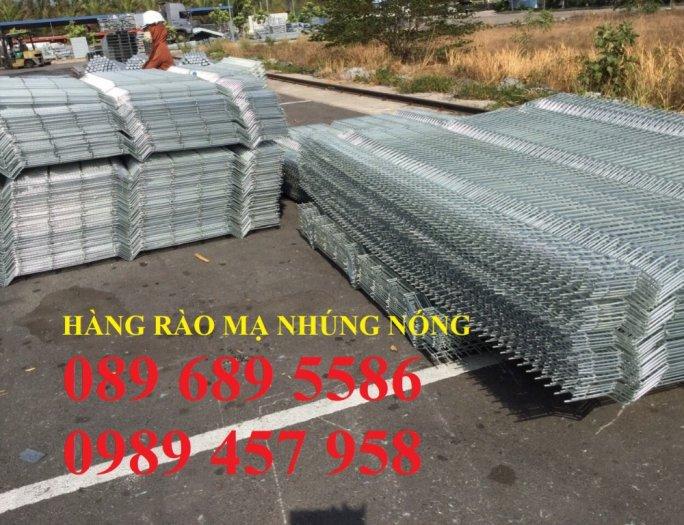 Hàng rào lưới thép hàn phi 5 ô 50*150, 50*200, 75*200 - Lưới thép hàng rào7
