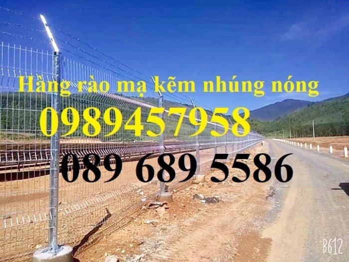 Hàng rào lưới thép hàn phi 5 ô 50*150, 50*200, 75*200 - Lưới thép hàng rào3