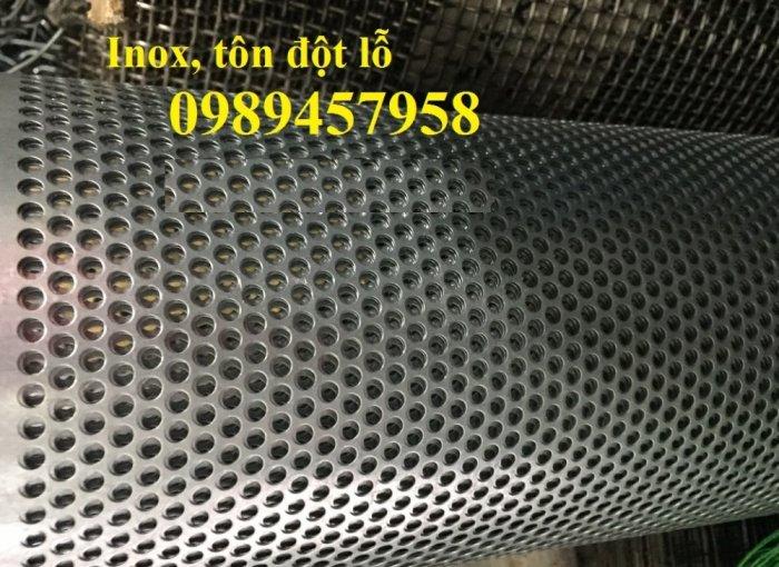 Lưới thép dập lỗ inox 304, Tấm kim loại đột lỗ, Tấm lưới lọc7
