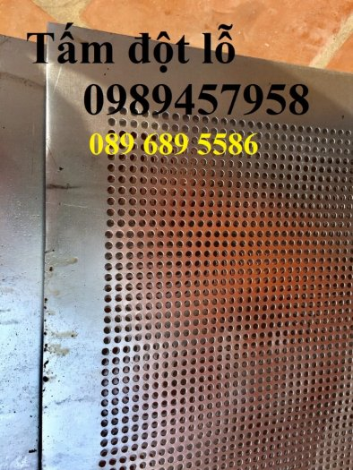 Lưới thép dập lỗ inox 304, Tấm kim loại đột lỗ, Tấm lưới lọc4