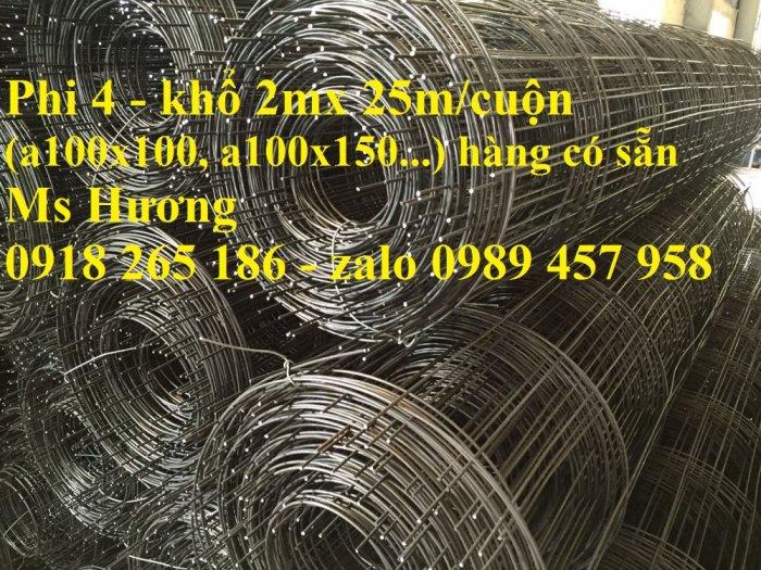 Nhà sản xuất Lưới thép hàn phi 6 ô 50x50, 100x100,  Lưới Thép hàng rào giá rẻ0